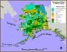 Land management map of Alaska